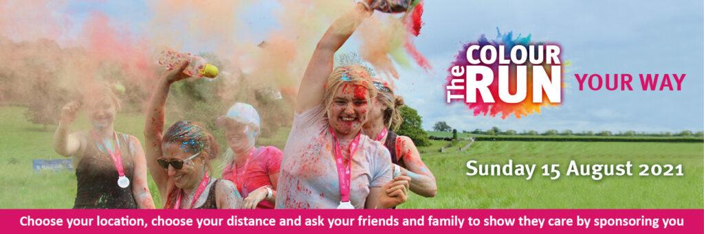 Colour Run 2021 Website Event Page Banner