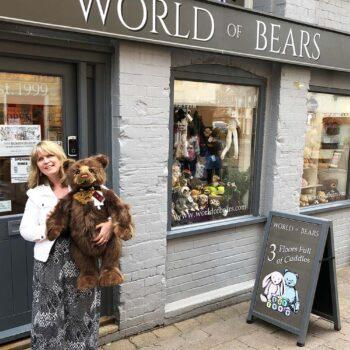Elaine at World of Bears