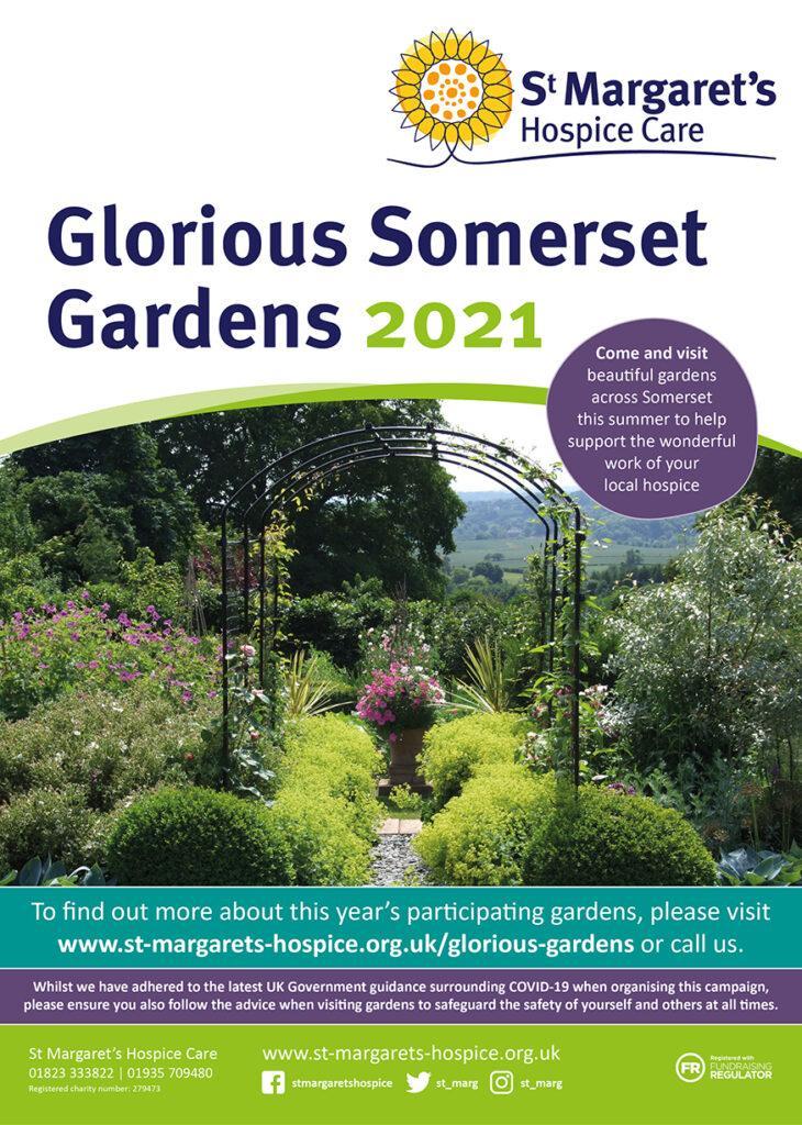 Glorious Somerset Gardens 2021 Poster