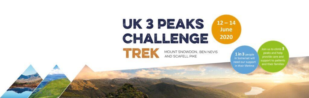 UK Trek 3 Peaks 2020 Carousel Banner